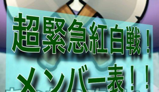 【内部向け】12月25日を破壊する!緊急紅白戦だ!